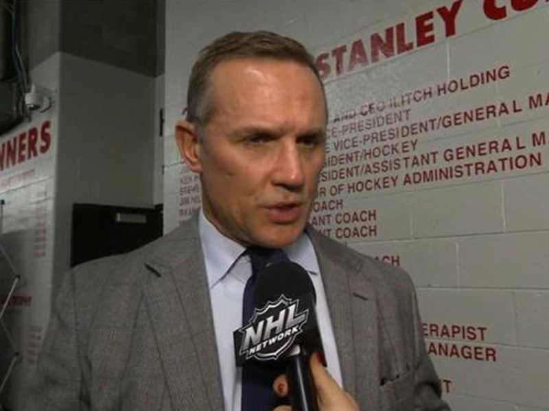 BREAKING - Yzerman to be named GM of Red Wings