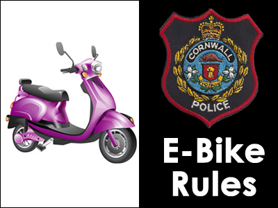 Cornwall Police issue education notice on e-Bikes