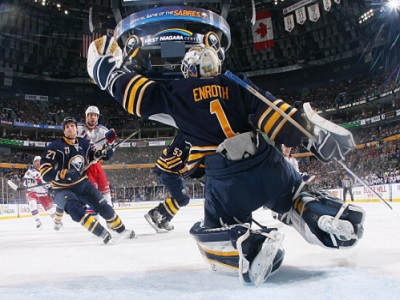 Jhonas Enroth Is An Above-Average NHL Starter