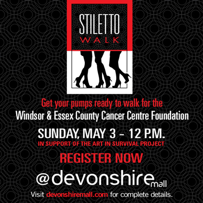 Kick Up Your Heels at the Stiletto Walk