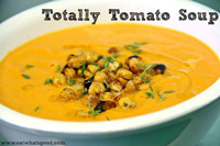 Organic Tomato Soup to Warm You Up